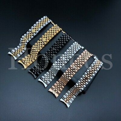 $ CDN26.56 • Buy 20 MM President Jubilee Watch Band Bracelet Fits For Rolex Stainless Solid Link