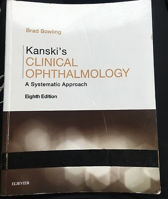 £110 • Buy Kanski's Clinical Ophthalmology: A Systematic Approach Brad Bowling