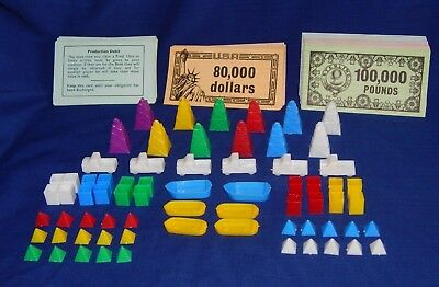 MINE A MILLION GAME SPARE REPLACEMENT PIECES  - WADDINGTONS - Please Choose:- • 2.75£