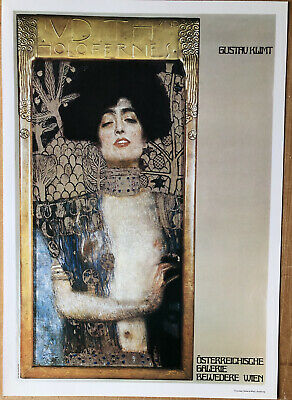 $ CDN6.90 • Buy Gustav Klimt Holofernes Wiem Poster Authorised Reproduction 16  X 11
