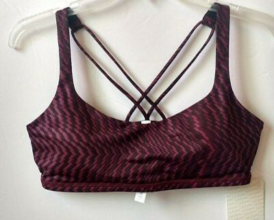 $ CDN56.15 • Buy NWT Lululemon Sport Bra Free To Be Color SFTR SZ 10 LGR