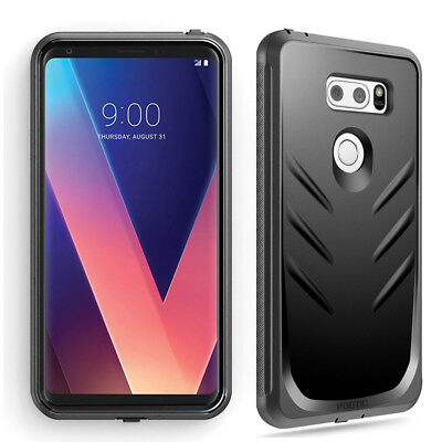 AU14.21 • Buy Full Coverage Shockproof Cover Case For LG V30 / LG V35 ThinQ / V30 Plus Black