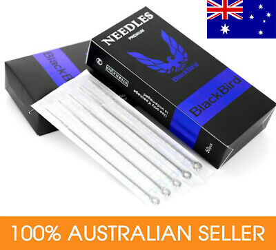 AU8.50 • Buy Tattoo Needles  5 X Sterilized Needles ROUND LINERS RL SHADERS RS MAGNUMS M1.