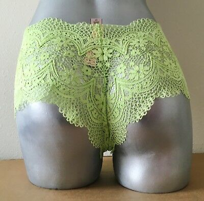 fd8264f127 Nwt Victorias Secret Lime Green Sexy Crochet Lace Shortie Panty S • 6.99