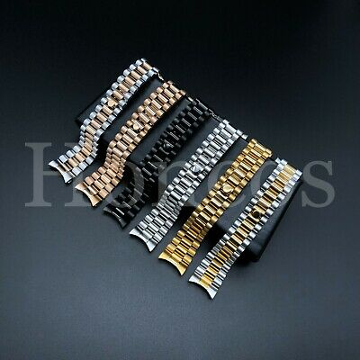 $ CDN26.80 • Buy 20 MM President Jubilee Watch Band Bracelet Fits For Rolex Stainless Steel Gold