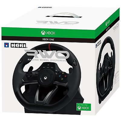 Xbox One Steering Wheel Pedal Set Racing Gaming Simulator Driving Full Size Rwo  • 153.45$