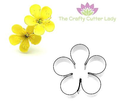 Blossom Cutter Five Petal Flower Cutter For Sugarcraft And Cake Decoration  • 4.90£