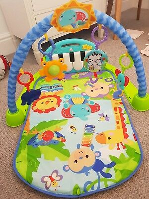 £25.50 • Buy Fisher-price Kick And Play Piano Gym Mat Toy Newborns+ 6-9 Months Rrp £38