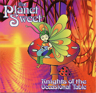 KNIGHTS OF THE OCCASIONAL TABLE 'The Planet Sweet' Ambient Techno CD New  • 2.49£