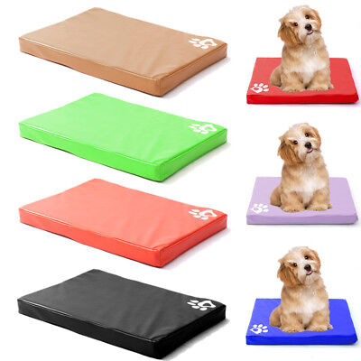 Chew Resistant Waterproof Dog Bed Easy Clean Tough Durable Cage Kennel Sleep Mat • 29.95£
