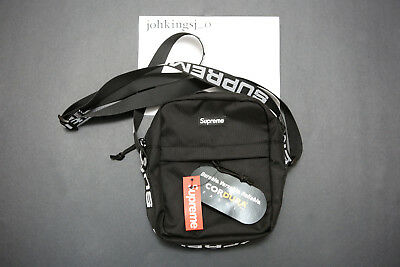 $ CDN143.74 • Buy Supreme Cordura Black Travel Shoulder Bag SS18 Box Logo