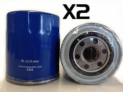 AU25.10 • Buy 2x Oil Filters Fit Ryco Z313 Mitsubishi Challenger 2.5L TD 2009on PB Common-Rail