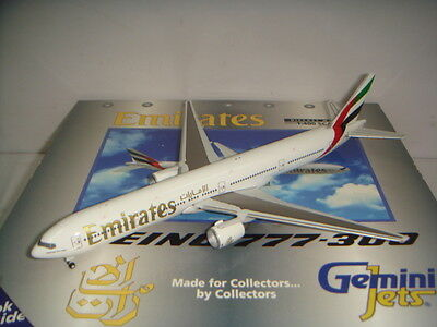 $79.99 • Buy Gemini Jets 400 Emirates EK B777-300  Late 1990s Color  1:400