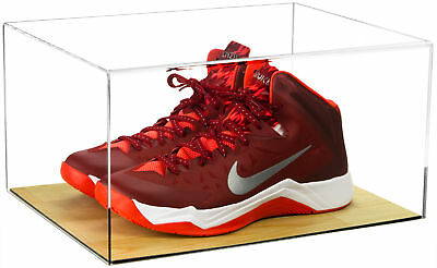 Deluxe Acrylic Clear Basketball Shoe Display Case With Wood Floor (A026) • 64.79$
