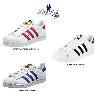 wholesale dealer 33fd1 bc09d Adidas Superstar Uomo Donna Bambino Bambina Scarpa Sneaker Shoes • 80€