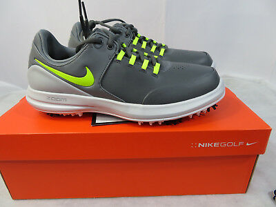 657c511a158a1 New Mens Nike Air Zoom Accurate Golf Shoes Dark Grey 909724 001 Wide Many  Sizes •