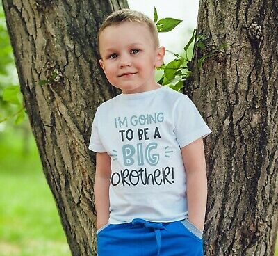 IM Going To Be A Big Brother Shirt Kids Children T Shirt Boys Announcement 527 • 8.99£
