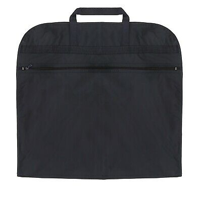 Hoesh UK Navy Waterproof Breathable Travel Dress Suit Cover Carrier Garment Bags • 6.99£