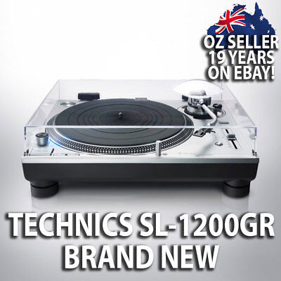 AU2999 • Buy New Technics Sl-1200gr Audiophile Direct Drive Turntable Record Player Sl-1200