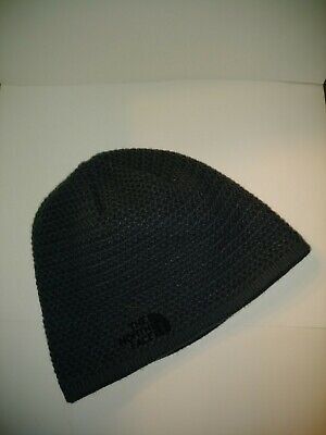 The North Face Unisex Gray Knit Beanie Hat One Size Fits All • 7.50  b7cffd937d6f