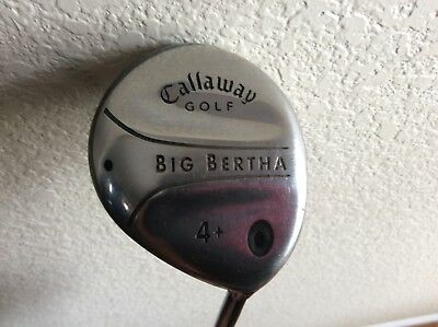 $ CDN23.87 • Buy Callaway Big Bertha 2004 4+ Fairway Wood Firm Flex Graphite. Right Hand.