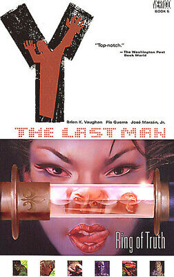 AU18.02 • Buy Y: The Last Man - Ring Of Truth, Book 5 TP - NEW - Graphic Novel - Vol Volume 05