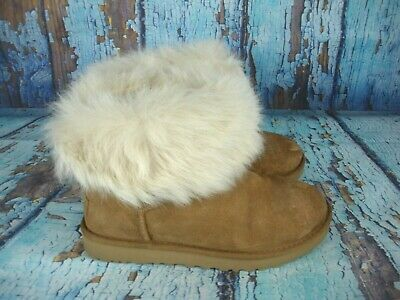eac38ac0817 ugg shearling cuff boots