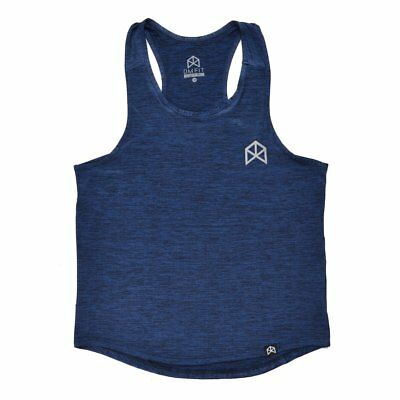 BMFIT DRI-FIT Y-Back Tank Top-Stringer - Heather Navy • 25£