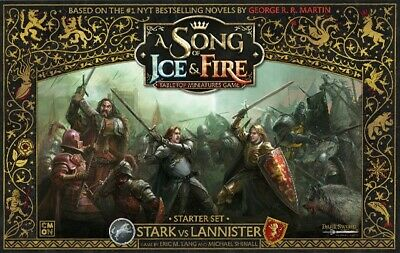 £121.49 • Buy A Song Of Ice And Fire: Stark Vs Lannister Starter Set Cool Mini New CMNSIF001