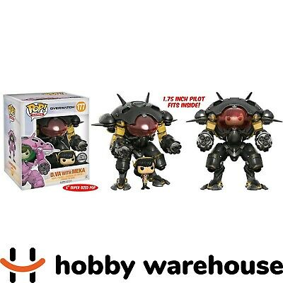 AU49.90 • Buy Funko Overwatch - D.Va With MEKA (Carbon Fibre) 6  Pop! Vinyl Figure