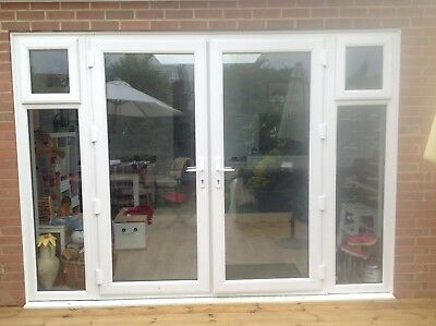 £602.02 • Buy Made To Measure White UPVC French Patio Doors / Fully Pre-Built / BRAND NEW