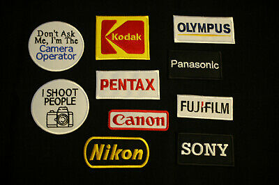 £2 • Buy  Camera - Photography - Iron / Sew On Patches 22 Designs