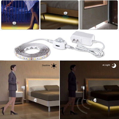 1-5M LED Cabinet Light Motion Sensor 2835 SMD LED Strip Lamp With Power Supply • 4.74$