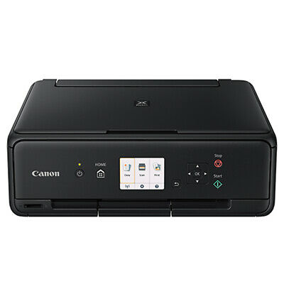 View Details  Canon PIXMA TS5020 BK Wireless Color Photo Printer Scanner Copier AirPrint NEW • 67.09$