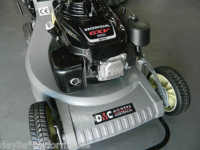 AU1199 • Buy LAWN MOWER SELF PROPELLED DMC 21  WITH A 5.5HP Honda Engine ALLOY BODY MULCHING