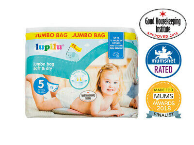 Baby Pampers. NAPPIE RANGE And Pull Up Pant By LIDL LUPILU Brand Pampers Nappies • 3.99£
