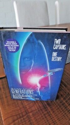 AU29.95 • Buy Star Trek - GENERATIONS - A Novel By J.M. Dillard