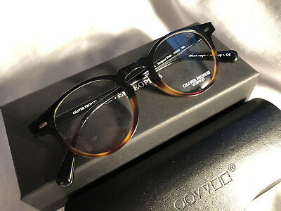 0e9cdc9654 New OLIVER PEOPLES Eyeglasses Gregory Peck OV5186 Tor Black 47mm Italy •  140.00