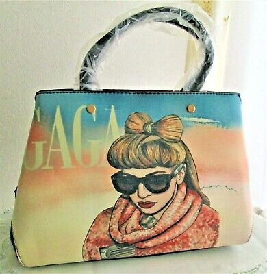 Lady GAGA Vinyl Hand & Belt Bag Rare For Collector BEST BUY From JAPAN NEW • 42.56£