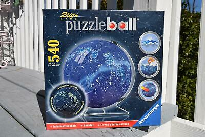 Ravensburger Star Line Celestial Map Puzzle Ball 540 Pc Glows In The Dark 3D NEW • 52.49$