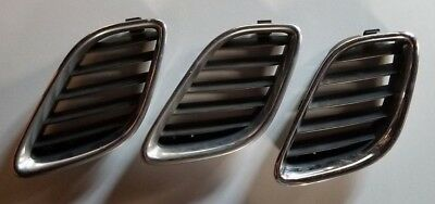 $19.95 • Buy 2002-05 Saab 9-5 95 Radiator Grill Upper Bumper Grille Left Driver Oem Chrome