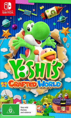 AU74.95 • Buy Yoshis Crafted World Switch Game NEW
