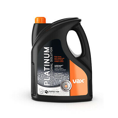 Vax Platinum Professional Carpet Cleaning Solution Shampoo 4L 1-9-142060 • 39.99£