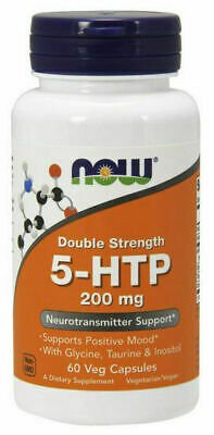 AU44.50 • Buy Now Foods 5-HTP 200mg 60 Caps. Double Strength