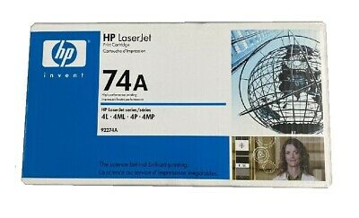 Original Toner HP 92274A 74A Laserjet 4L 4P 4ML 4MP - New Cartridge • 62.28£