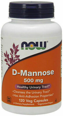 AU42.50 • Buy Now Foods D-Mannose 500 Mg 120 Veg Caps, 40 Serve Urinary Tract Health UTI