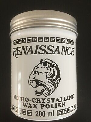 Renaissance Wax 7 Oz / 200ml LARGE SIZE TIN - PRESERVE YOUR ARTIFACTS • 18.09£