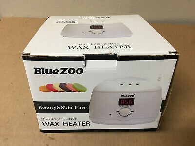 Bluezoo Waxing Kit Electric Wax Warmer With Hard Wax Beans Alcohol Prep Pads And • 21.09£