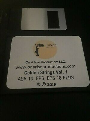 $39.95 • Buy Ensoniq ASR 10, EPS, EPS 16 PLUS Custom Sound Kit Titled  Golden Strings   (New)