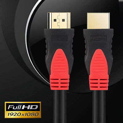 AU9.99 • Buy New HDMI Cable 1.4 HDR Gold Plated HDTV 1080P 3D 4K Ultra HD ARC 2160p Lead Cord